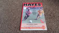 Hayes v Kettering Town, 1998/99